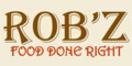 Rob'z Pizza & BBQ Menu