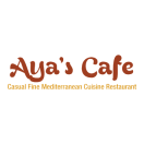 Aya's Cafe  Menu
