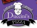 Duccini's Pizza Menu