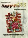 Happiness Chinese Restaurant Menu