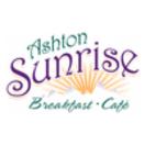Ashton Sunrise Cafe Menu