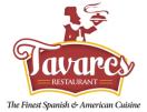 Restaurant Tavares Menu