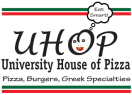 University House of Pizza (UHOP) Menu