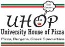 University House of Pizza (UHOP) Menu