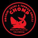 Chomp Rockin' Sushi &Teppan Grill Menu