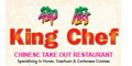 King Chef Menu