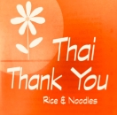 Thai Thank You Rice & Noodles Menu