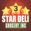 3 Star Deli Grocery Menu