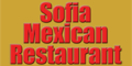 Sofia Mexican Restaurant Menu