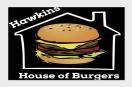 Hawkins House of Burgers Menu
