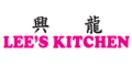 Lee's Kitchen Menu