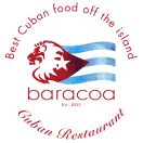Baracoa Cuban Restaurant Menu