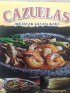 Cazuelas Mexican Restaurant Menu