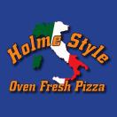 Holme Style Pizza Menu