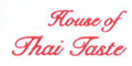 House of Thai Taste Menu