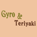 Gyro & Teriyaki Menu