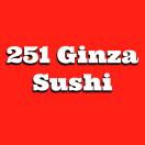 251 Ginza Sushi Menu