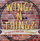 Wingz N Thingz Menu