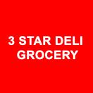3 Star Deli Grocery Menu