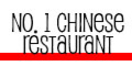 No. 1 Chinese Restaurant Menu