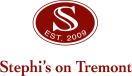 Stephi's on Tremont Menu