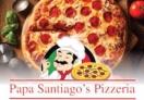 Papa Santiago's Pizzeria Menu