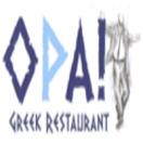 Opa Greek Restaurant Menu