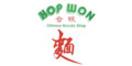 Hop Won Menu