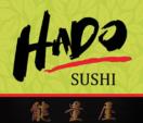 Hado Sushi and Thai Cuisine  Menu