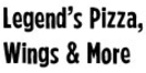 Legend's Pizza Menu