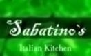 Sabatino's Italian Menu