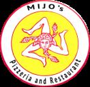 Mijo's Pizza Menu