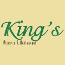 King's Pizzeria Menu