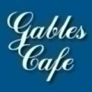 Gables Cafe Menu