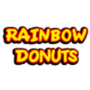 Rainbow Donuts Menu