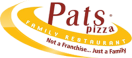Papa Pat's Pizza Menu