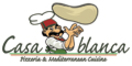 Casablanca Pizzeria and Mediterranean  Menu