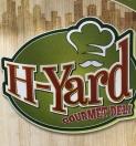H-Yard Gourmet Deli Menu