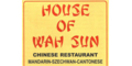 House of Wah Sun Menu