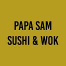 Papa Sam Sushi & Wok Menu