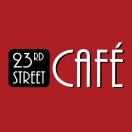 23rd Street Cafe Menu