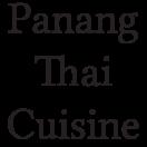 Panang Thai Cuisine Menu