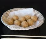 6 Sesame Balls