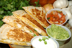 Chicken Quesadilla - delivery menu