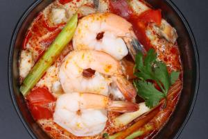 S4. Num Khon Soup - delivery menu