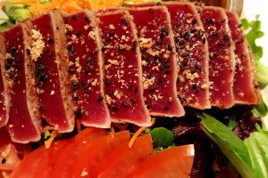 Tuna Tataki Salad - delivery menu