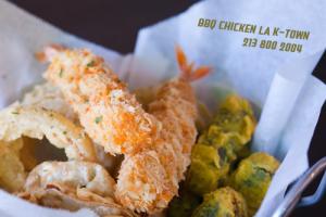 Combo Fried Sampler - delivery menu