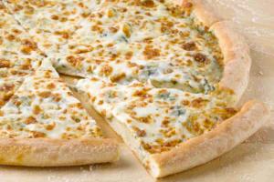 Spinach Alfredo Pizza - delivery menu