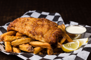 Fish and Chips - delivery menu