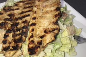 Caesar Salad with Fresh Grilled Chicken - delivery menu